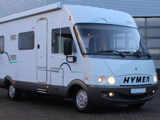 Ruime 4 persoons Hymer