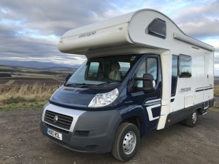 Swift 4 Berth ideal für Familien oder Paare Sommer oder Winter