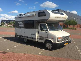Reuze Camper – Retro Hymer voor de klassieke camper beleving!