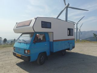 dream-catcher – Compacte Mitsubishi L300 retro-camper