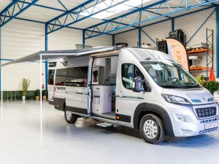 Warwick Autosleeper 2+2 – Bus Wohnmobil Messe Ford Peugeot Boxer 160PK Manual 2 + 2 Personen