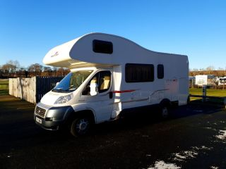 6 berth motor-home for hire