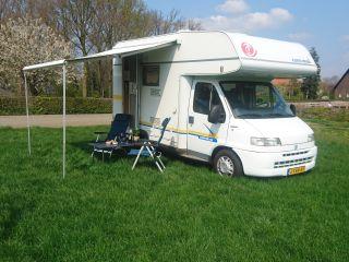 Fiat Ducato – Accogliente camper Eura Mobil per 4 persone