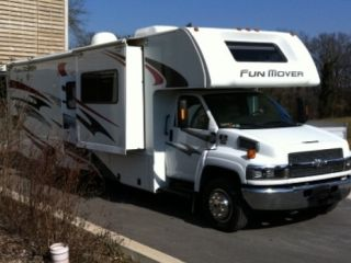 FUN MOVER 34C – FOUR WINDS FUN-MOVER 34C C-RIJBEWIJS AMERIKAANSE 7 PERSOONS