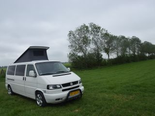 Nice self-built Volkswagen Transporter T4 long wheelbase