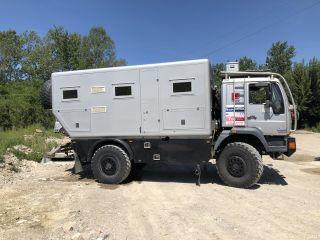 4WD expeditiecamper: Parijs-Dakar