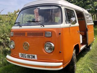 Blossom – Classic Volkswagon Camper Van hire Based in Cornwall