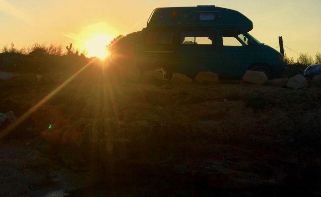 Westfalia California Rent Smart Van in Puglia