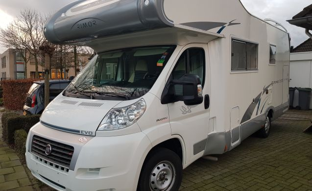 7 persoons camper
