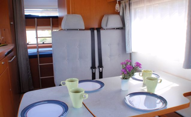 La Sarda – LMC LIberty A 564 - Ideal for up to 4 people