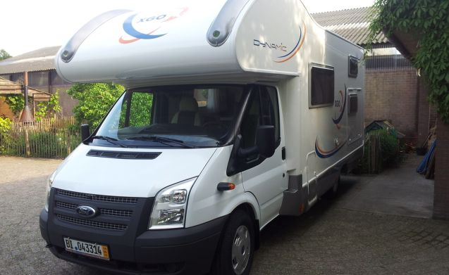 7 seater motorhome, ideal for families with children