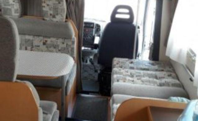 Een mooie praktische Gezinsmobilhome