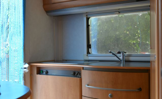 A comfortable and spacious motorhome rentals