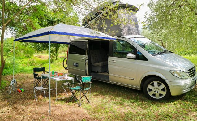 ItalyHomeXP-Mercedes Marco Polo – Home is where you park it! CamperVan Westfalia Mercedes auto navi