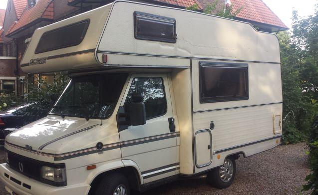 Frans – Leuke retro camper!