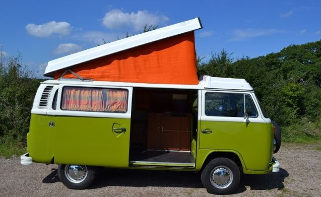 Retro VW T2B Camper droombus - technically top!
