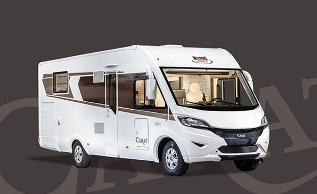 new (2018) mobile home for 6 people, 150 hp