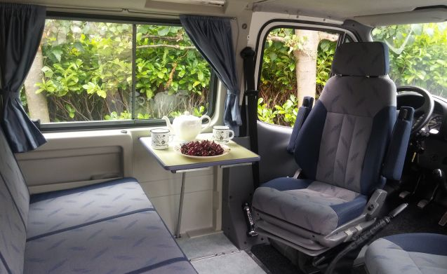 Nugget – Still available MAY HOLIDAY Extra discount. Factory camper FORD NUGGET.
