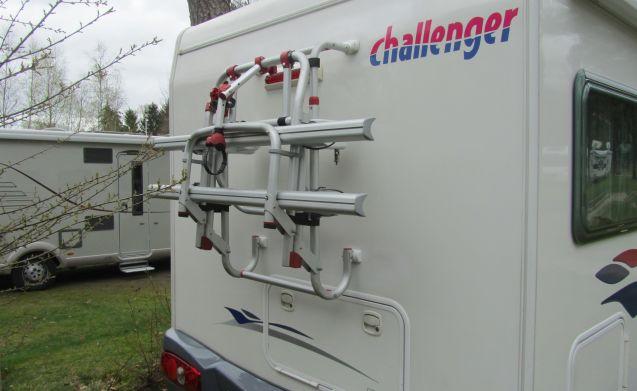 Challenger, gemaakt om te ontdekken.
