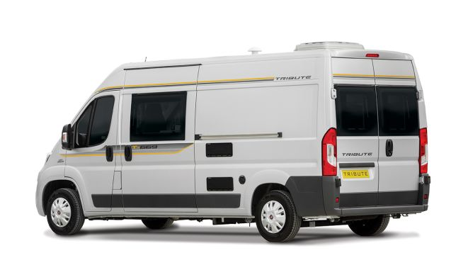 Vehicle 5 – Highly spec'ed 2019MY Tribute 669 campervan (V3)