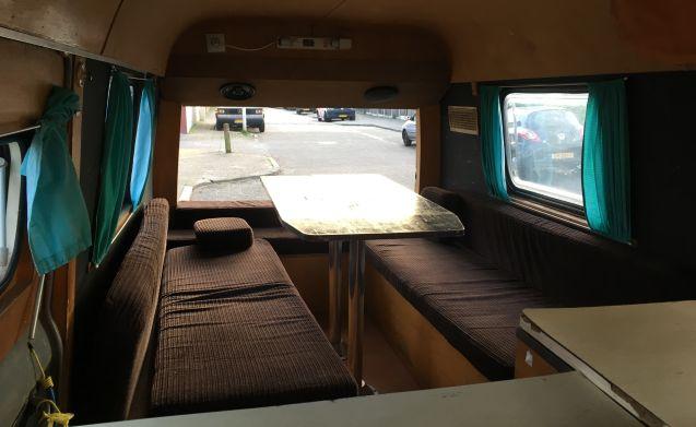 Heidi – Adventurous & Romantic Classic Ford Transit MK1 Campervan - 1972