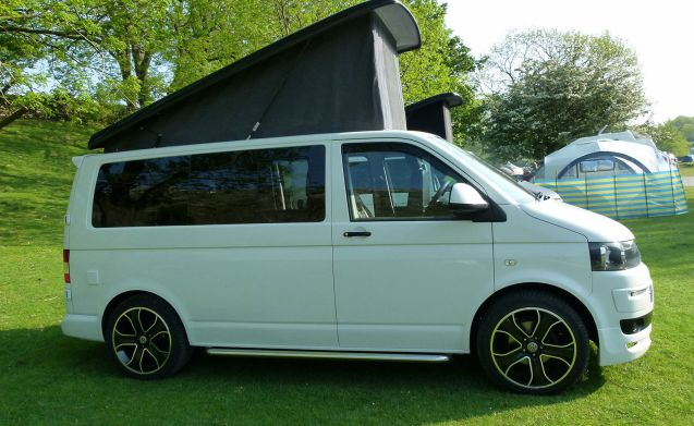 Rent This Volkswagen Motorhome For 4 People In Denby