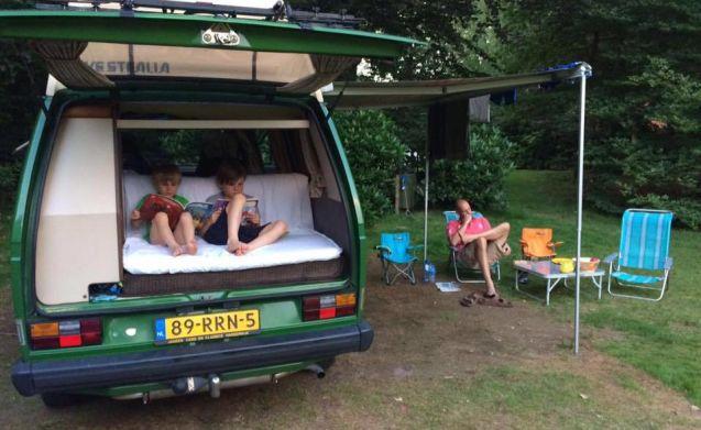 VW T3 Westfalia Club Joker – Volkswagen van VW T3 Westfalia 4p rent