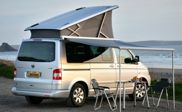 Volkswagen T5 California four motion