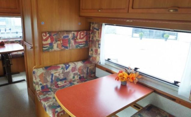 204 – Elnagh Marlin 65 - sleeps 6 - generous round seating and complete inventory