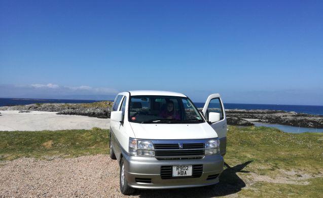 Kiwi  – Unieke Japanse 4X4 Wild Campervan