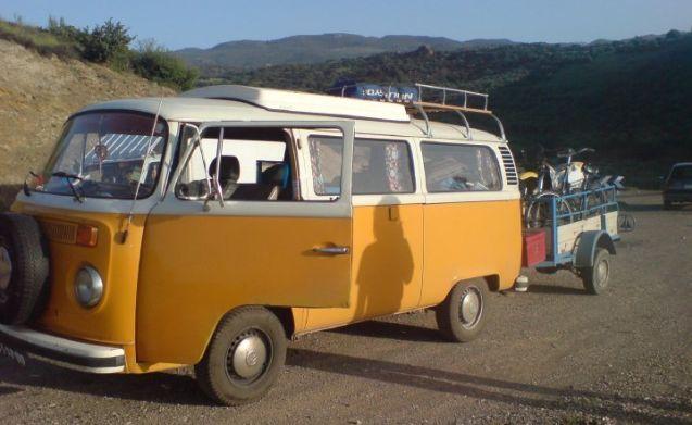 Tuv – campeggio accogliente con Tuv, VW T2 felice camper!