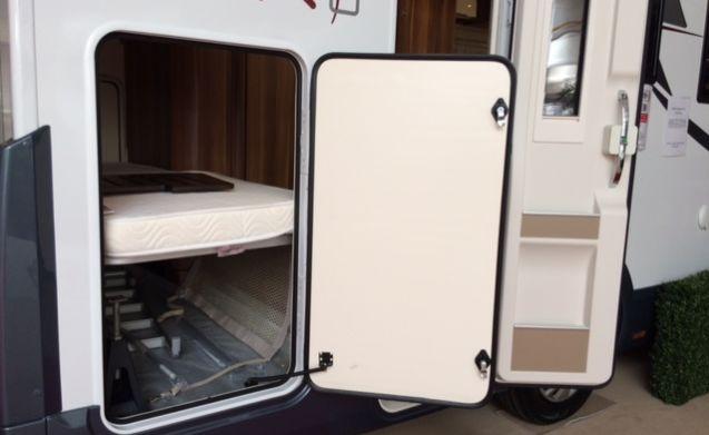 Zeffiro 274TL – Nog tot begin April extra korting!! leuke ruime camper bwjr 2017