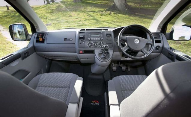 VAN DIESEL – Sporty VW T5 2.5 TDI  Spacious Long Wheel Base  Pop Top Camper