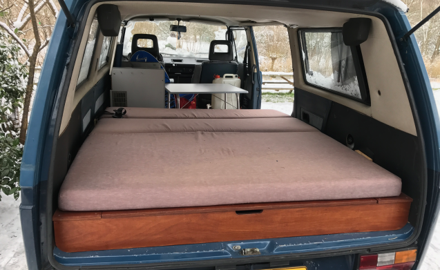 Goofy  – Goofy - Volkswagen T3 caravelle budget rent