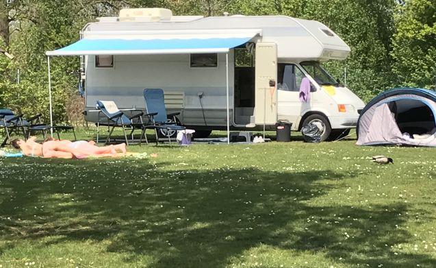 Bobbie  – 6 persoons Ford Rimor camper