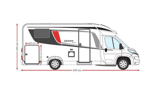 Lyseo T690 IC-line  2017 – Spacious, luxurious and comfortable!