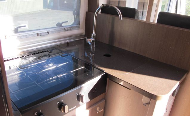 Luxurious and spacious, Adria Sonic, integral camper, for winter and summer!