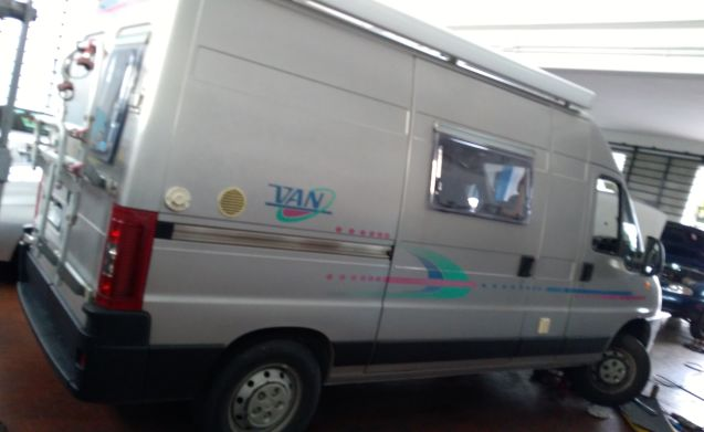 GATTEO – Van furgonato FIAT ADRIA