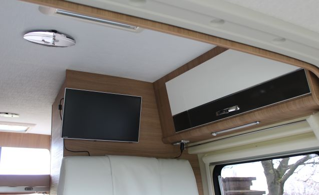 Livingstone Sport 5 – New, practical motorhome, all amenities and all-inclusive formula