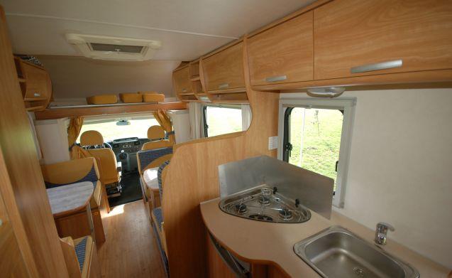 5 Ford Transit Katamarano 2010