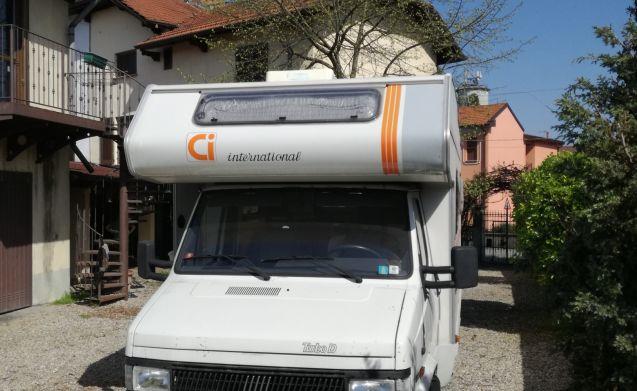 Affitto Camper 5 posti letto