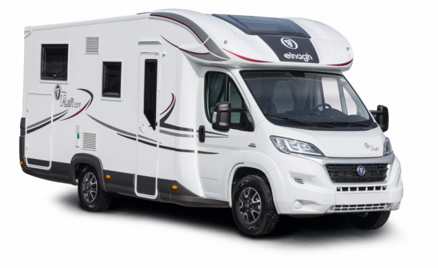 Luxe motorhome 2-4(5pers)
