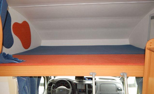 Ford Rimor 6 posti letto e viaggio