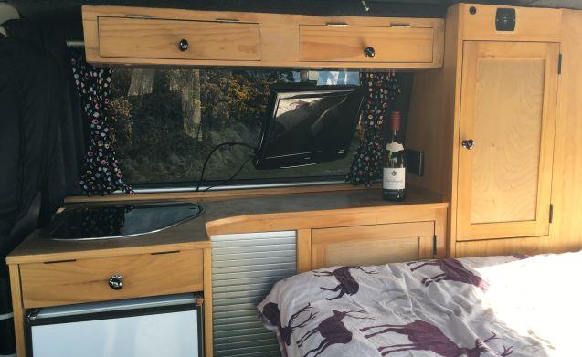Lovely VW T4 pop roof camper