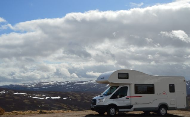 Livingston – Scottish Highlands Motorhome Adventure