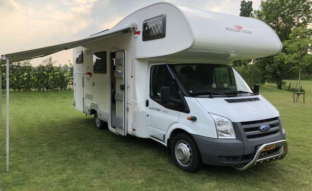 Garage Van Vlijmen : Miete dieses ford wohnmobil mit leuten in vlijmen ab u ac pro