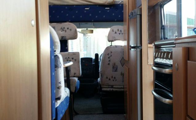 6 berth ready for exploring Scotland