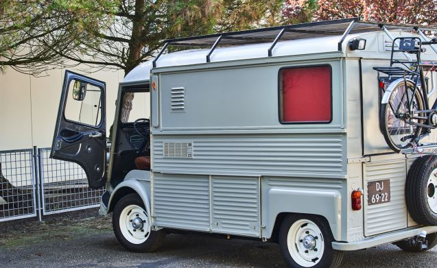 David – Back to the 70's met deze klassieke Citroën HY