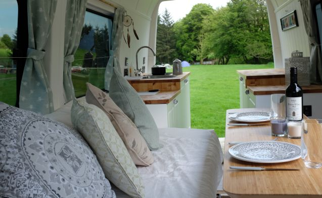 Nyla – Bright, Light, Luxury Sprinter Conversion That Feels Just Like a Tiny Home