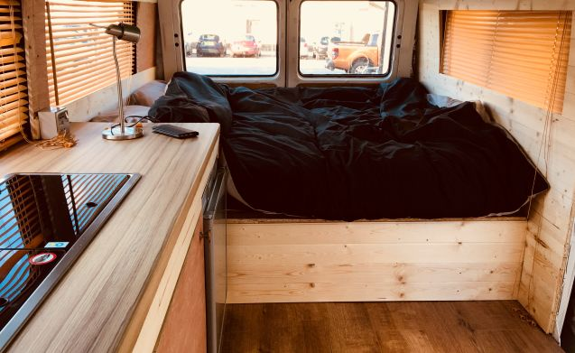Awesome VW LT35 Camper van with wood burning stove